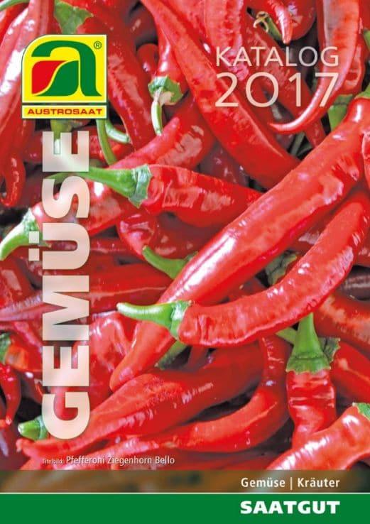 Katalog profesionalnih semen vrtnin in zelišč 2017