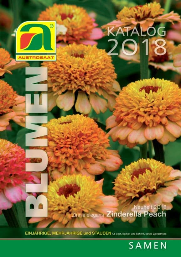 Austrosaat Blumen Katalog 2018