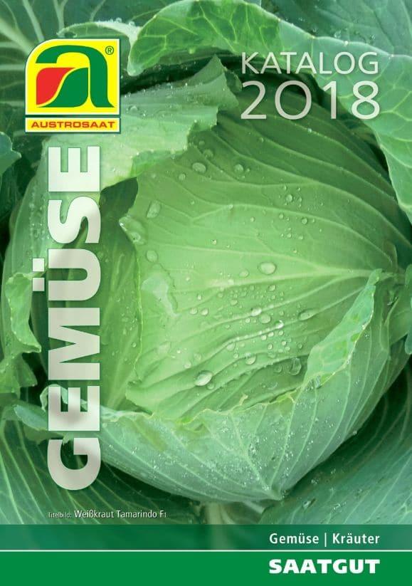 Austrosaat Gemuse Katalog 2018
