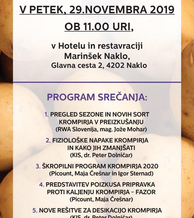 Vabilo na dan krompirja 2019